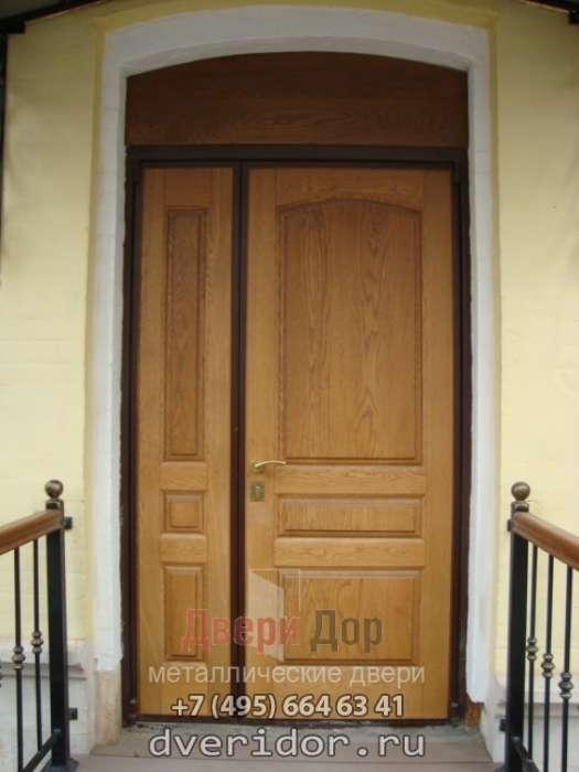 цены на входные двустворчатые двери