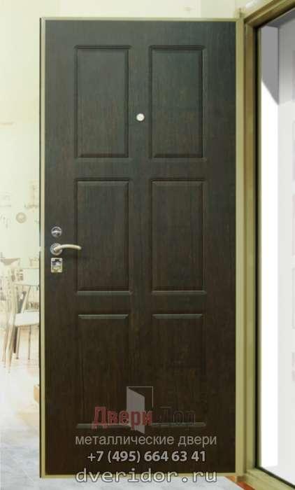 тёплая входная дверь в частный дом 80 мм