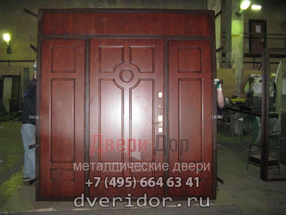 металлическая дверь фрамуга боковина цена