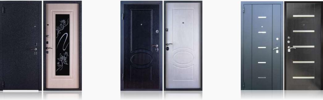 выбор металлической двери частный дом