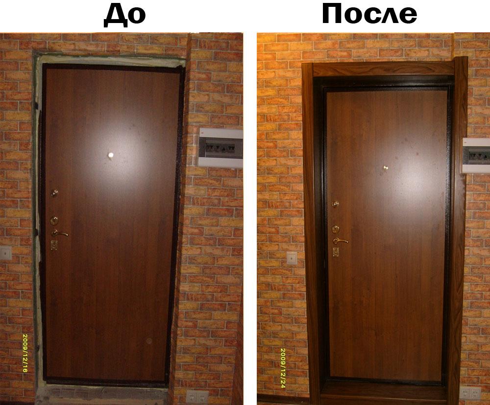 Как поставить входные двери